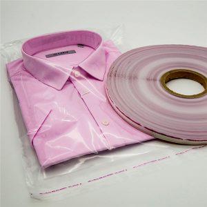 OPP حقيبة ختم الشريط للحصول على حقائب الملابس